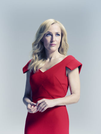 Gillian Anderson for AARP Magazine