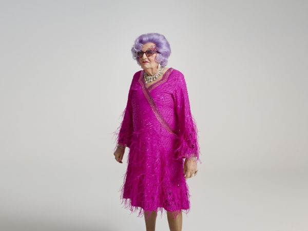 Dame Edna Everage for ES Magazine