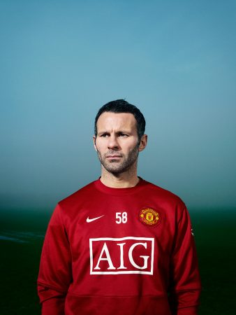 Ryan Giggs for Esquire