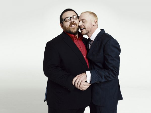 Simon Pegg and Nick Frost for Esquire