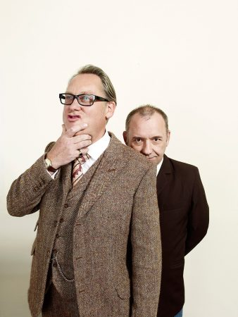 Vic Reeves and Bob Mortimer for The Sunday Independent