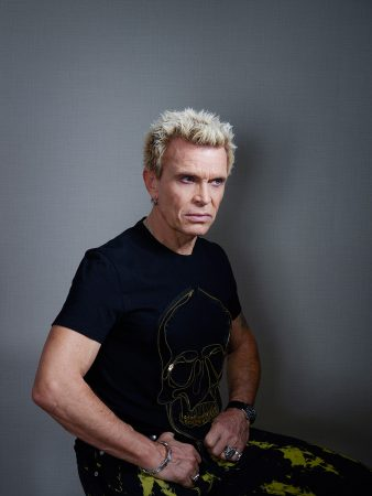 Billy Idol for The Times Saturday Magazine