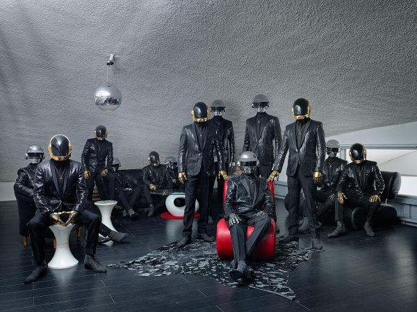 Daft Punk for Esquire