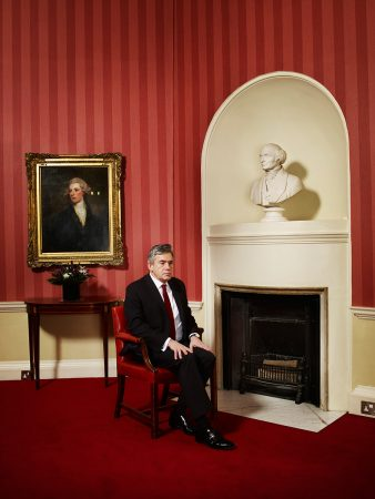 Gordon Brown for Esquire