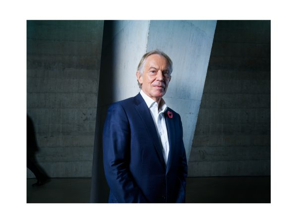 Tony Blair for Wired, November 2018.