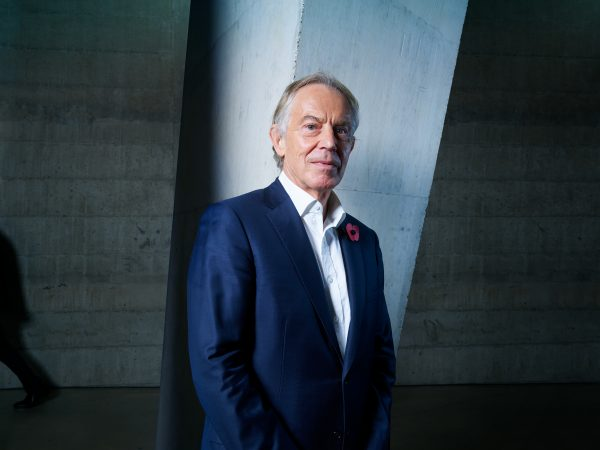 Tony Blair for Wired Magazine.