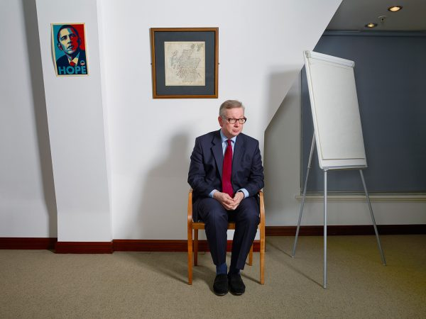 Michael Gove for The FT Weekend Magazine